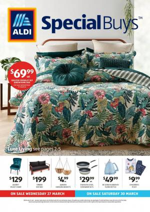 aldi catalogue special buys week 13 2019