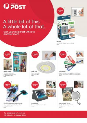 australia post catalogue home 15 jul 4 aug 2019