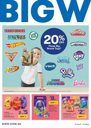 big w catalogue easter 18 apr 1 may 2019