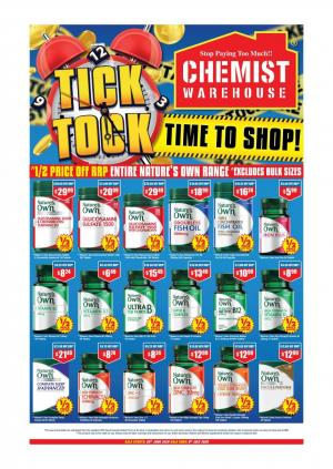 chemist warehouse catalogue 26 jun 9 jul 2020