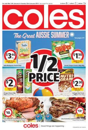 coles catalogue 16 jan 2019