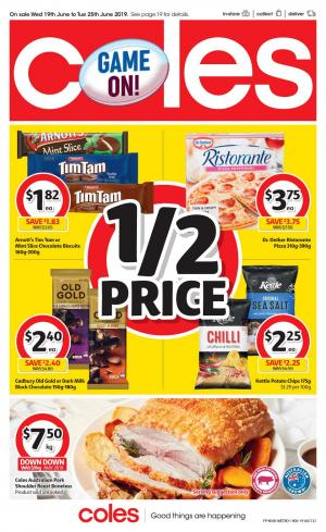coles catalogue 19 25 jun 2019