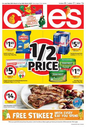 coles catalogue 20 26 mar 2019