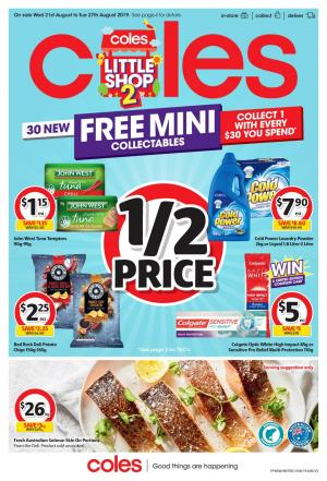 coles catalogue 21 27 aug 2019