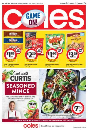 cf4d981faf91 Coles Catalogue Jul 3 - 9 2019 | Deals, Half Prices