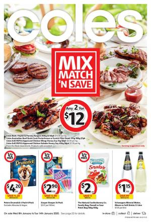 Coles Catalogue 15 21 Jan 2020 Deals Half Prices