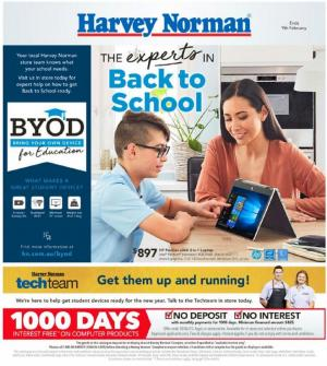 harvey norman catalogue back to school jan 2020