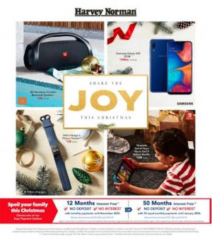 harvey norman catalogue electronics dec 2019