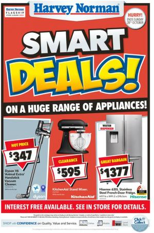 harvey norman catalogue smart deals oct 2018