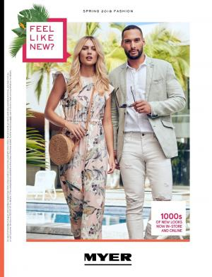 myer catalogue spring fashion 2018