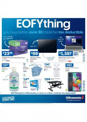 officeworks catalogue 24 30 jun 2020