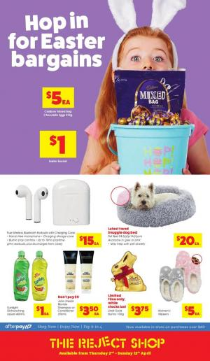 reject shop catalogue easter 2020