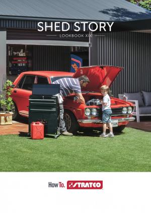 stratco catalogue shed story