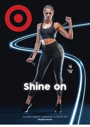 target catalogue shine on 17 jan 2019
