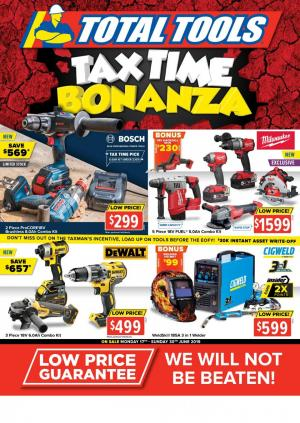 total tools catalogue tax time 17 30 jun 2019