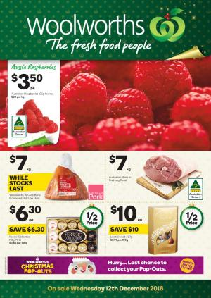 woolworths catalogue 12 dec 2018