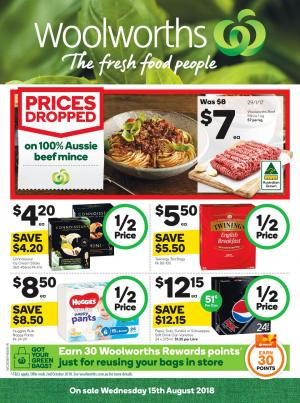 woolworths catalogue 15 aug 2018