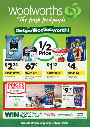 woolworths catalogue 17 oct 2018