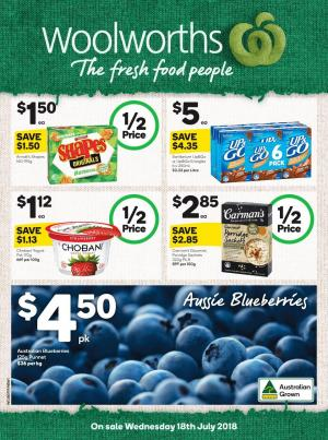 woolworths catalogue 18 jul 2018