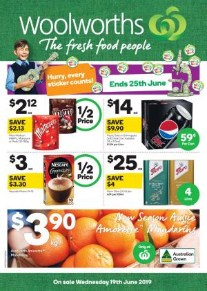 woolworths catalogue 19 25 jun 2019