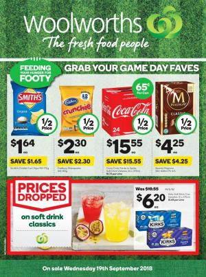 woolworths catalogue 19 sep 2018