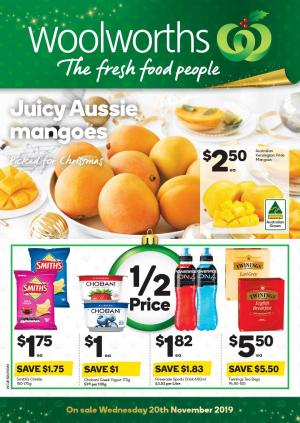 woolworths catalogue 20 26 nov 2019