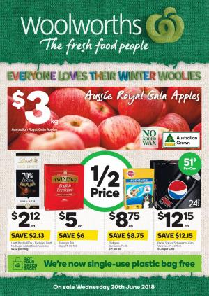 woolworths catalogue 20 jun 2018
