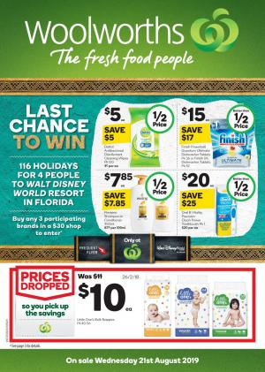 woolworths catalogue 21 27 aug 2019