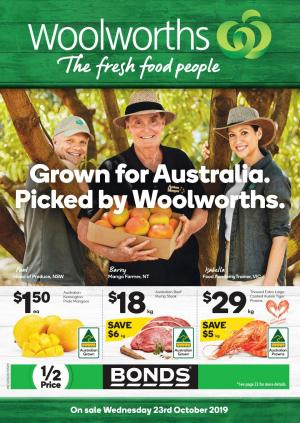woolworths catalogue 23 29 oct 2019