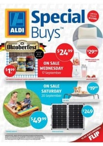 ALDI Catalogue special buys Week 38