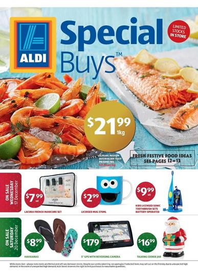 Aldi Catalogue Gift Deals