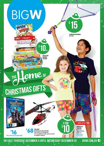 Big W Christmas Toy Sale And Gift Catalogue