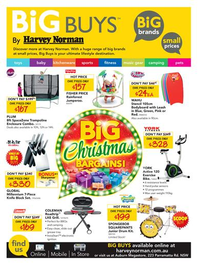 Harvey Norman Catalogue Christmas Gifts December 2014