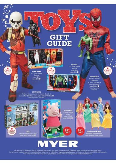 Myer Catalogue Toys Gift Guide