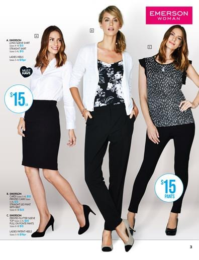 Clothing Range Of Womens Business Wear And Casual Clothes Big W Catalogue