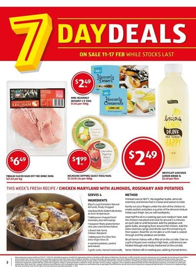 Aldi Catalogue Meat Week 8 Special Buys Week 8 2015