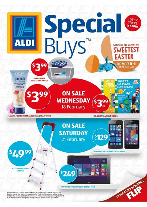 Aldi Catalogue Online Special Buys Week 8 2015