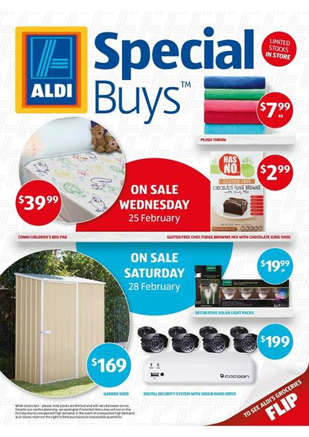 Aldi catalogue special buys garden products february 2015 for Aldi gardening tools 2015
