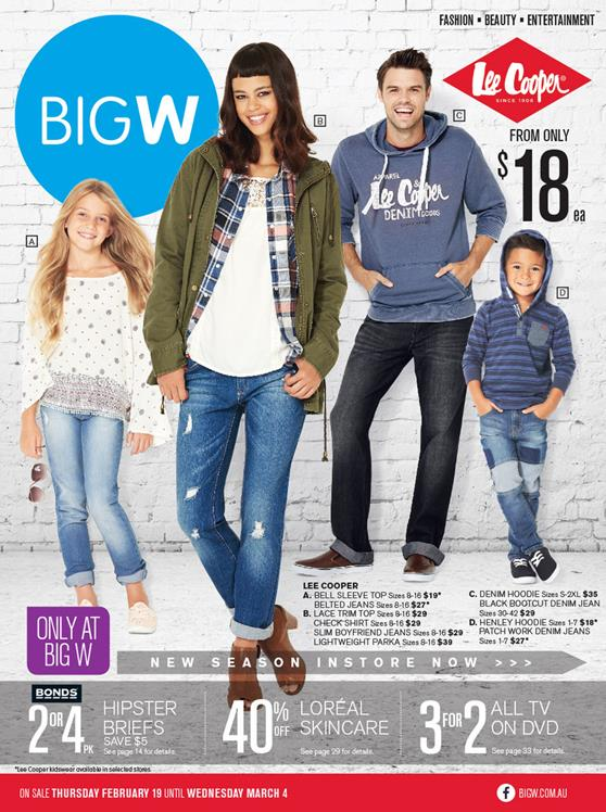 Big W Online Catalogue February Casual Outfits 2015