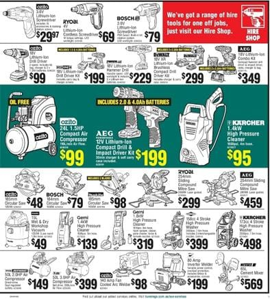 Bunnings Hardware Online Catalogue Products February 2015