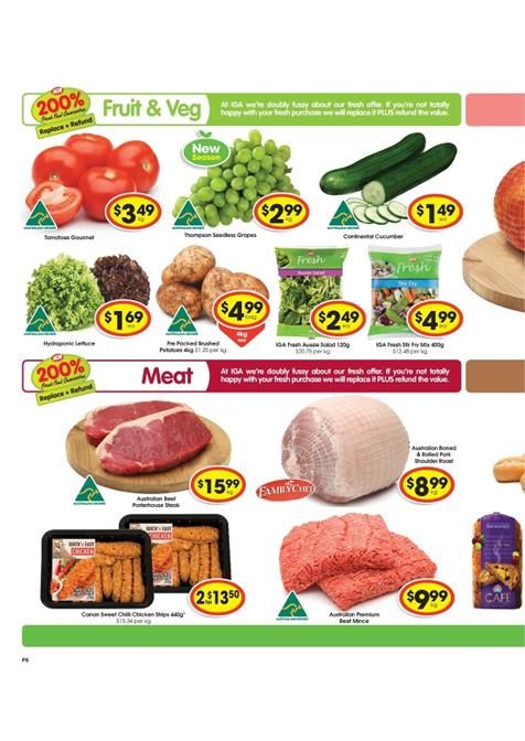 Fresh Food Meat IGA