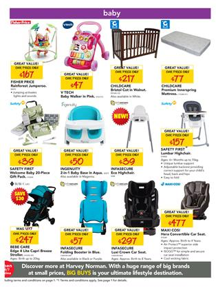 Harvey Norman Baby Products