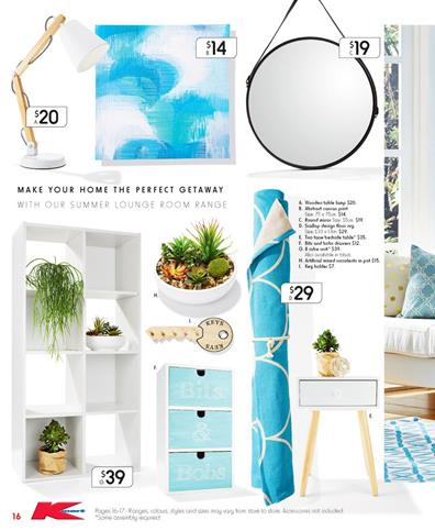 Kmart Furniture Catalogue February Sale 2015