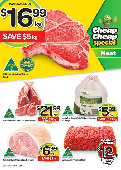 Save money on Woolworths Online Catalogue Fresh Food