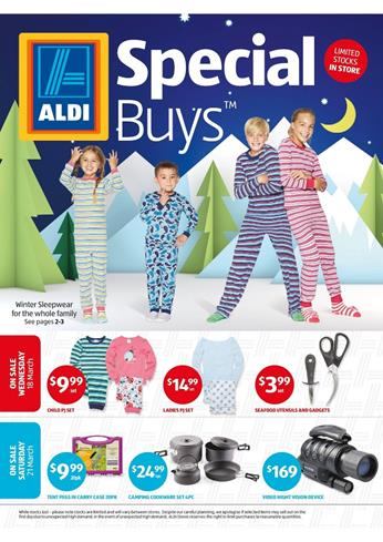 ALDI Catalogue Special Buys Week 12 March 2015