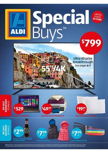 ALDI Catalogue Special Buys Week 13 March 2015
