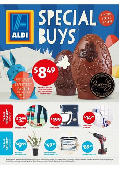 Aldi catalogue special buys week 11 march 2015 for Aldi gardening tools 2015