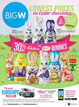 W catalogue easter gifts and easter eggs march big w catalogue easter gifts and easter eggs march negle Gallery
