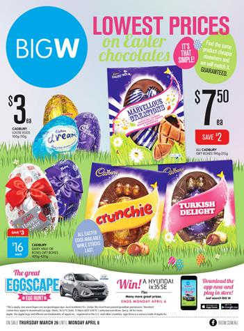 W catalogue easter gifts and entertainment products big w catalogue easter gifts and entertainment products negle Choice Image