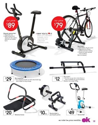Kmart Catalogue Fitness Products March 2015